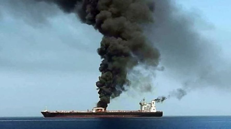 タンカー被弾は安倍首相イラン訪問に対する抗議行動?