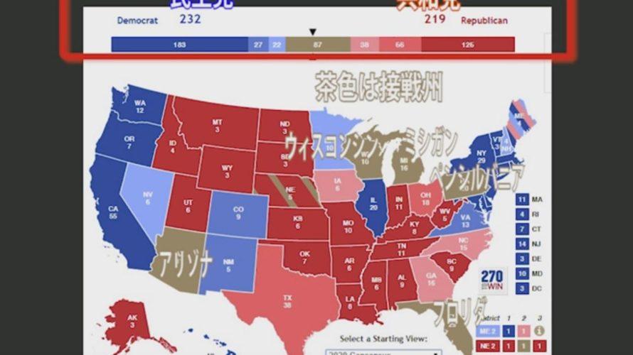 株式市場の予測はトランプが苦戦必至の米国大統領選挙が鍵