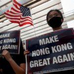 またしてもこの時間に・・・:トランプ香港人権法案に署名