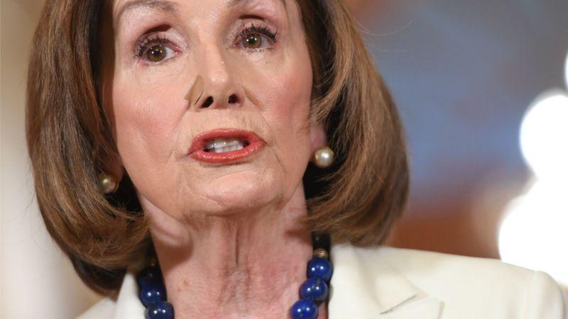 なぜか焦りまくってる下院議長ナンシー・ペロシ